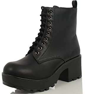 Outlet From China Sale Amazing Price Womens Chunky Biker Boots Bianco Discounts Cheap Online IYEoeSB