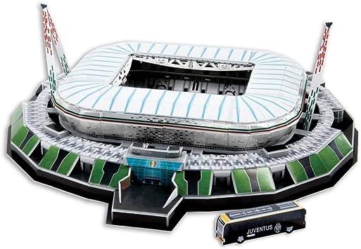 KARACTERMANIA Nanostad, Puzzle 3D Estadio Stadium Original de Juventus (39001), Multicolor: Amazon.es: Juguetes y juegos