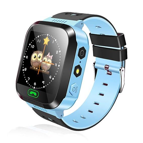 Kefaith Reloj Inteligente para niños, Reloj Inteligente con Juegos, Relojes Inteligentes para niñas y niños con cámara Digital Muñeca Inteligente para niños ...