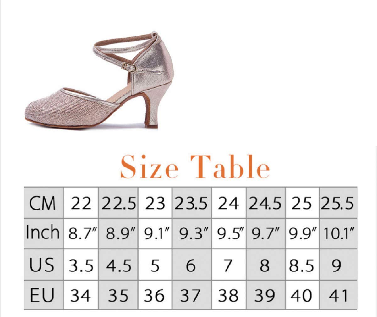 MELLOW SHOP Modern Dance Shoes Closed Toe Sandals Indoor Dancing Shoes Women Girls Ladies