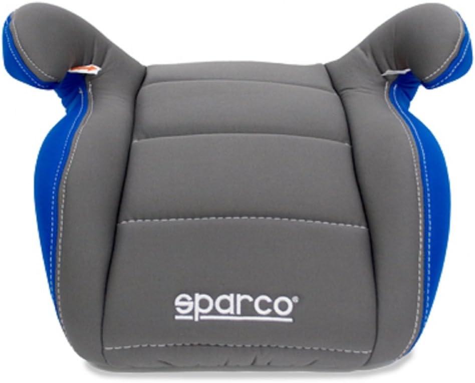 Grey Sparco SPC3002GR3CM Booster Sitz f/ür Kinder Gruppe III Grau//Blau 3Cm