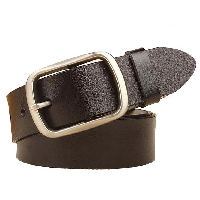 Amazon.com: jinghao A8 Vestido Cinturón Pin Hebilla Piel ...