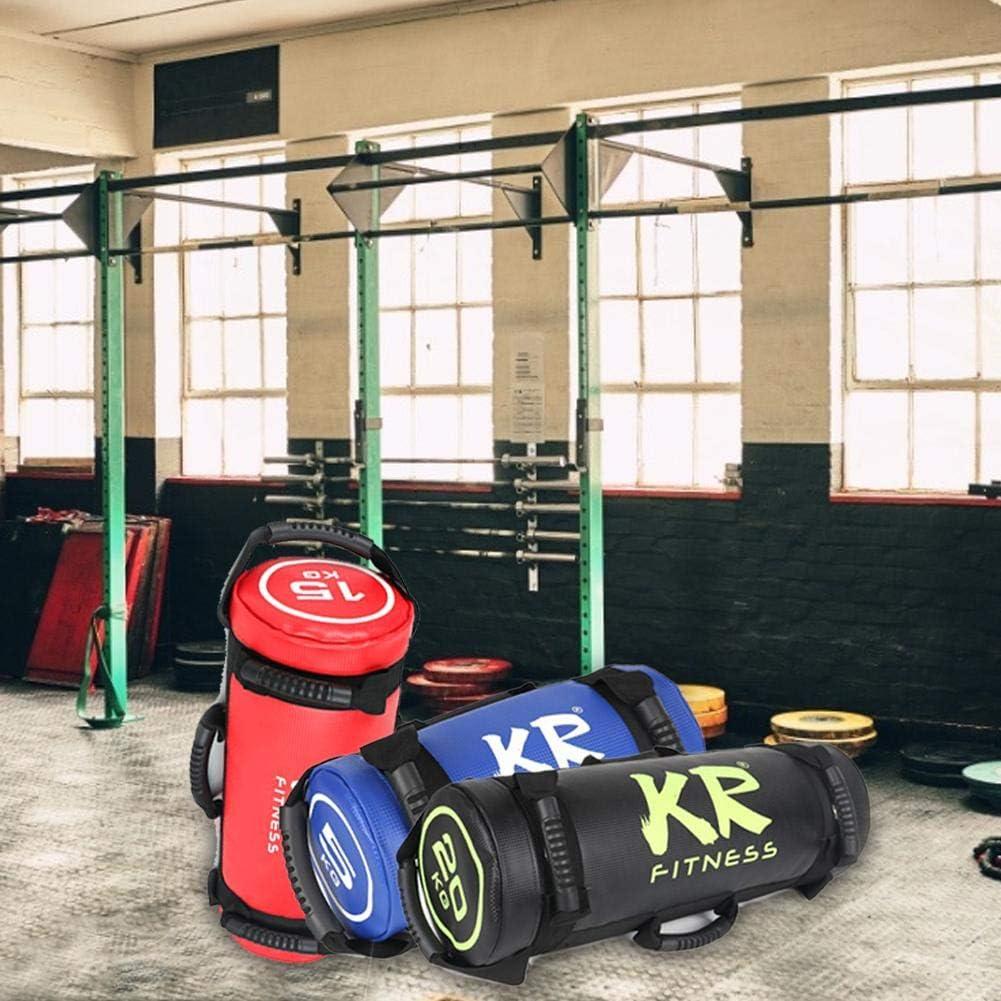 NAKELUCY 5//10//15//20//25//30 Kg Krafttraining Power Bag Strength Fitness Exercise Sandsack Heavy Duty Workout Sands/äcke f/ür Fitness Hochwertige Durable Exercise Sands/äcke