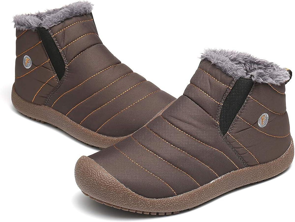 Amazon.com | gracosy Snow Boots for Men