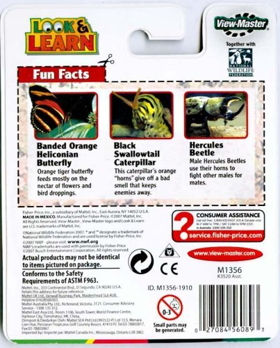 View-Master Bugs and More Look & Learn Reels by View Master (Image #1)