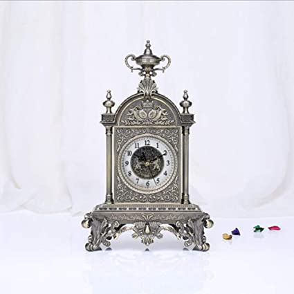 LIJIANGUO Relojes Antiguos de Bronce Relojes clásicos de Bronce