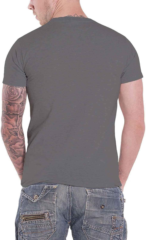Capitol Records T Shirt Logo Nue offiziell Herren Charcoal Grau