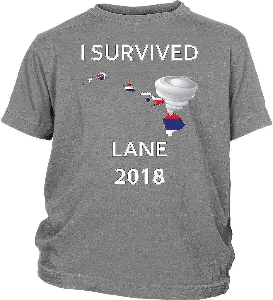 I Survived Hurricane Lane Hawaii 2018 Kids T-Shirt