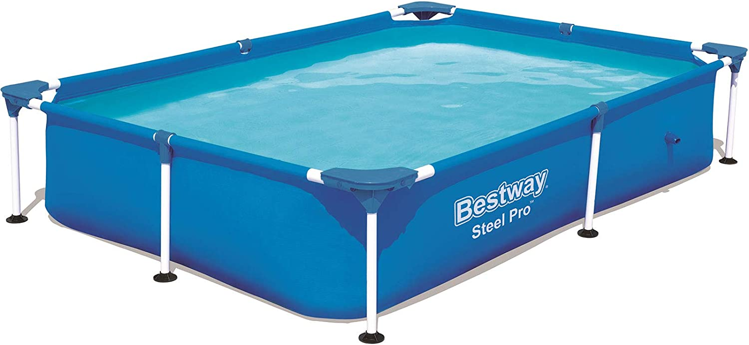 Bestway Splash Jr.Piscina Desmontable Tubular Infantil, 221 x 150 x 43 cm: Amazon.es: Juguetes y juegos