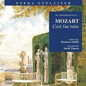 Mozart: Così Fan Tutte Audiobook