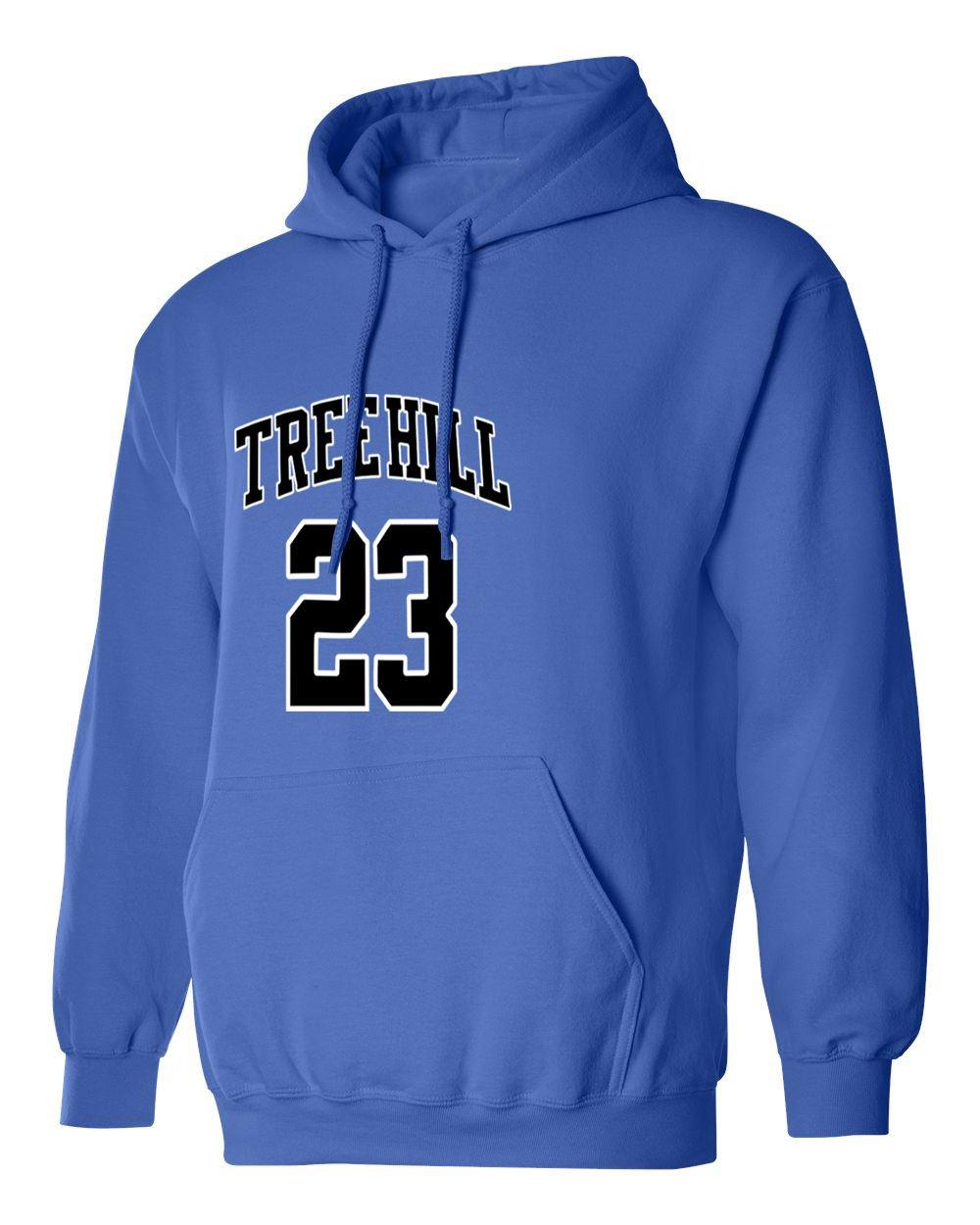 KINGS SPORTS Ravens Basketball Movie #23 Nathan Scott One Tree Hill Jersey Style Womens V-Neck T Shirt
