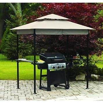 8 x 5 BBQ Grill Gazebo Replacement Canopy Amazon.ca Patio Lawn u0026 Garden & 8 x 5 BBQ Grill Gazebo Replacement Canopy: Amazon.ca: Patio Lawn ...