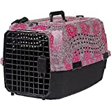 Lixit Animal Care Bandana Print Two Door Pet Carrier, 23''