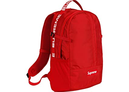 Image Unavailable Not Available For Color Supreme Backpack Red
