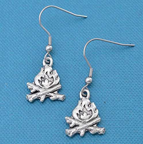 Campfire Earrings made our CampingForFoodies hand-selected list of 100+ Camping Stocking Stuffers For RV And Tent Campers!