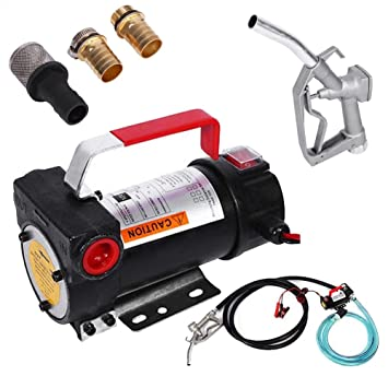 12 V DC Bomba Combustible Diesel Aceite Transferencia Kit ...