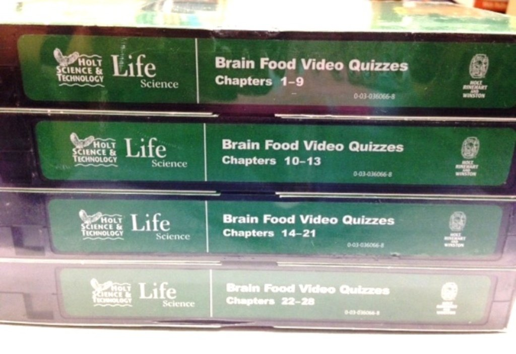 Amazon com: Brain Food Video Quizzes, Life Science Chapters