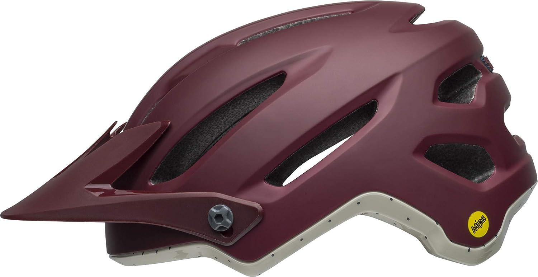 , Small Bell 4Forty MIPS Adult MTB Bike Helmet 2019 Cliffhanger Matte//Gloss Gray//Crimson