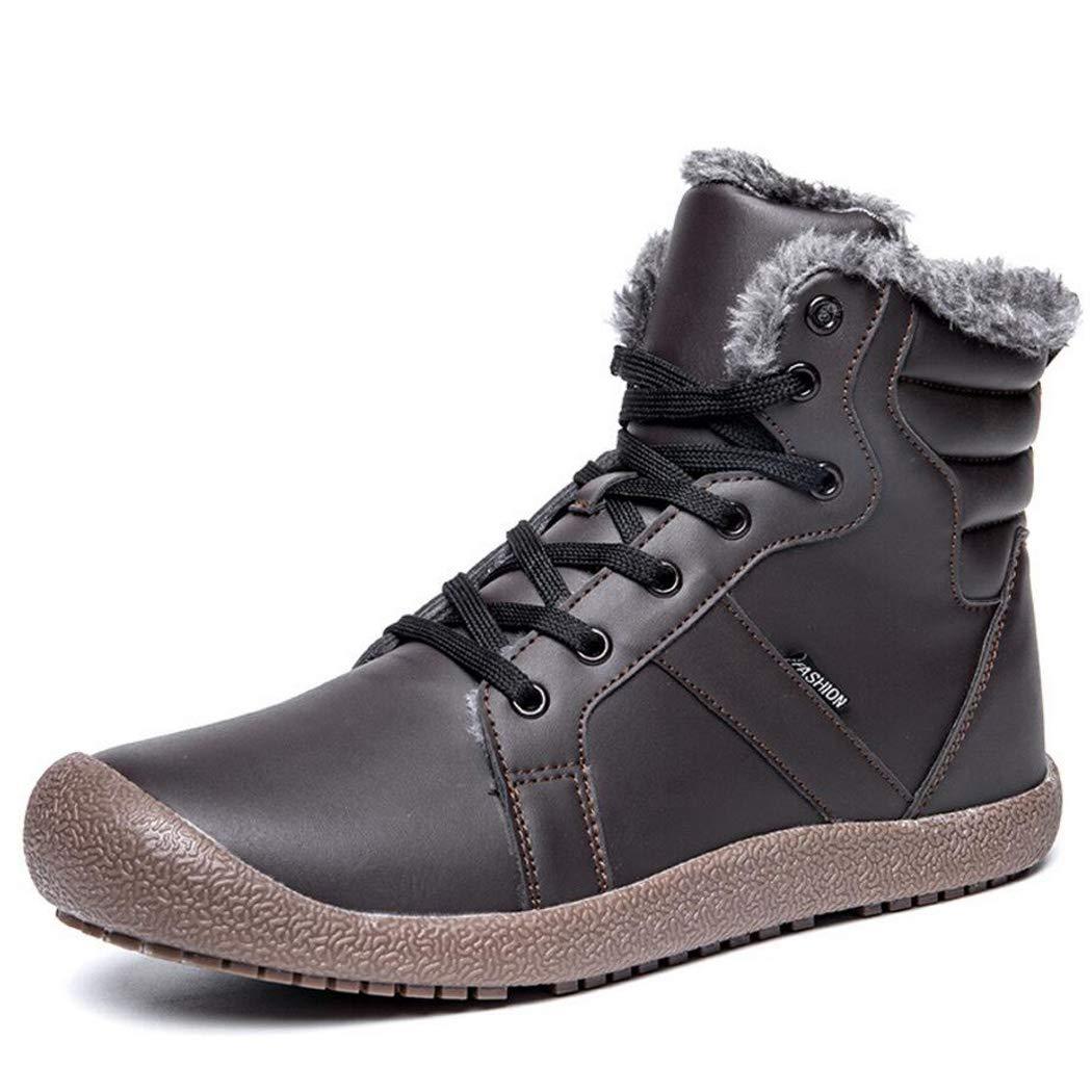Zxcvb  Herren Lightweight Winter Schneeschuhe schnüren Sich Ankle Stiefelie Outdoor Warm Plüsch Schuh Frauen