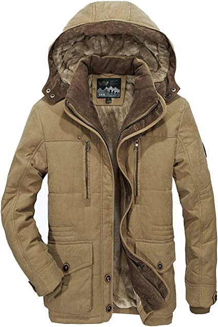 blouson hiver homme multipoches