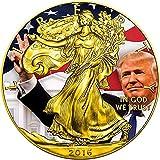 2016 1 Oz Silver American Eagle DONALD TRUMP Coin
