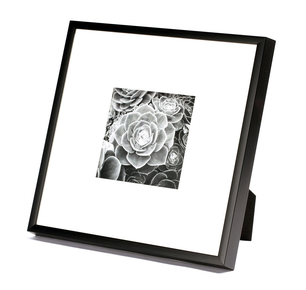Frametory, 8x8 Black Square Picture Frame - Instagram Picture Frame ...