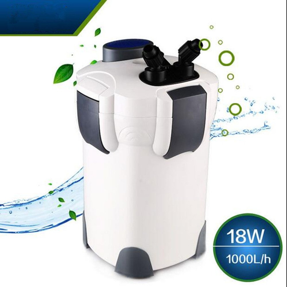 External Canister Aquarium Fish Tank Filter Bucket Table Top Nano HW Series with AU Adaptor (HW-302)