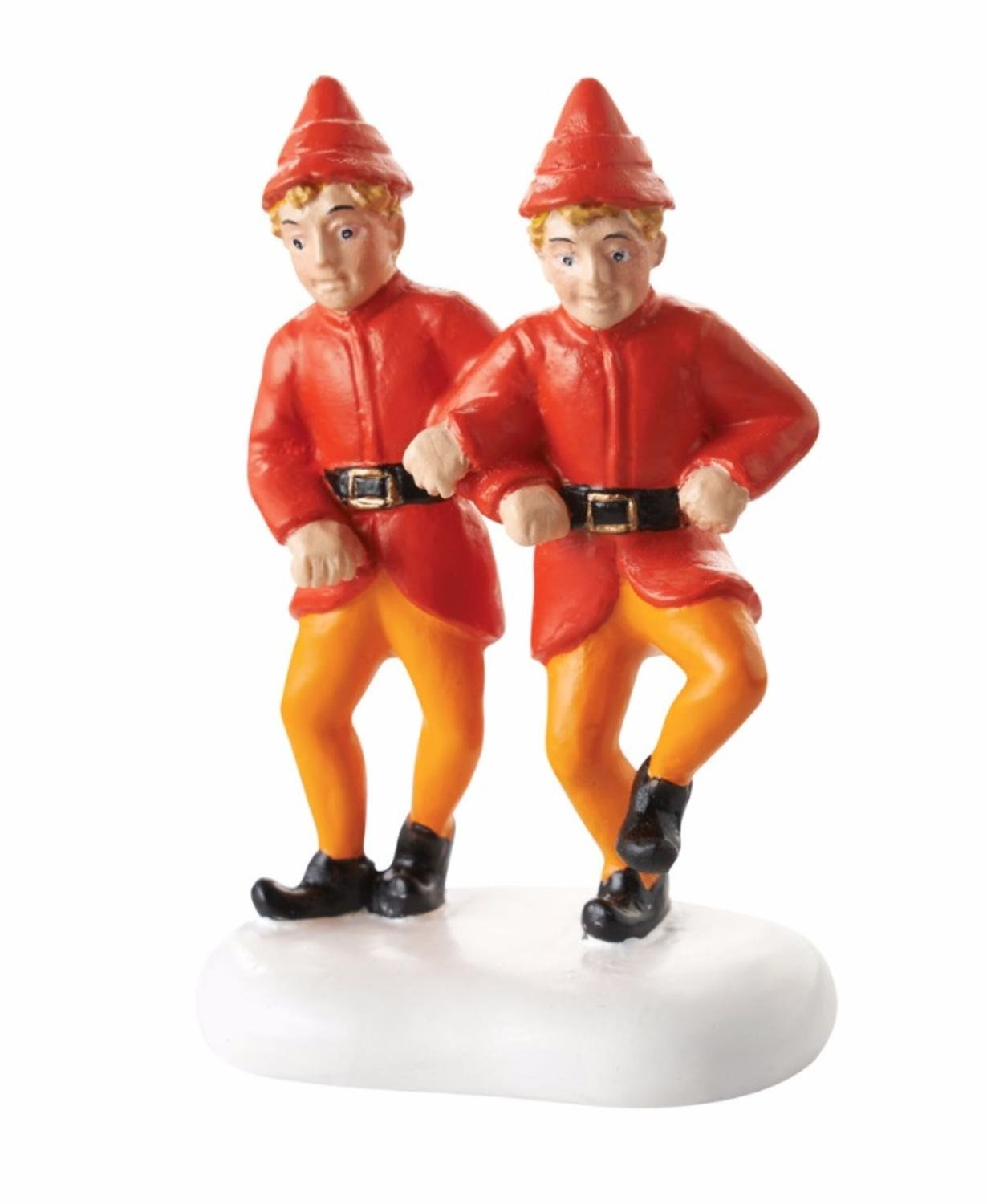 Department 56 Elf The Movie The Twins' Happy Dance Christmas Figurine #4053061