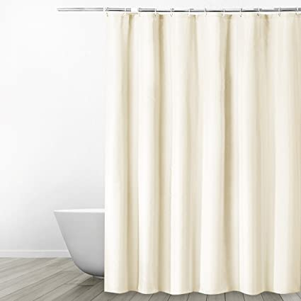 Eforgift Water Repellent Polyester Shower Curtain Mildew Resistant Heavy Duty For Bath 72