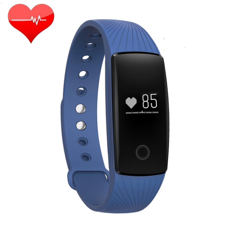 Acfun ID107 plus Reloj Inteligente Pulsera Inteligente Bluetooth 4.0 Inteligente Elegante Pulsera Fitness Pulsera De Banda Pulsometro Fitness Tracker ...