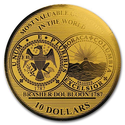 2017 DE Solomon Isl. 1/100 oz Gold Million Dollar Collection (USA) Gold Brilliant Uncirculated