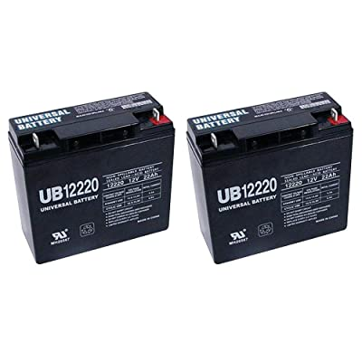 Universal Power Group 12V 22Ah Battery for Activecare Spitfire EX 1420-2 Pack : Sports & Outdoors