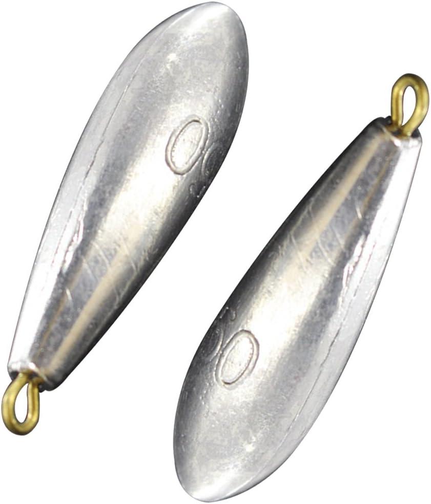 NoyoKere 5 pcs P/êche Plombs De Poids Sinkers Waterdrop Forme Casting De P/êche Accessoire