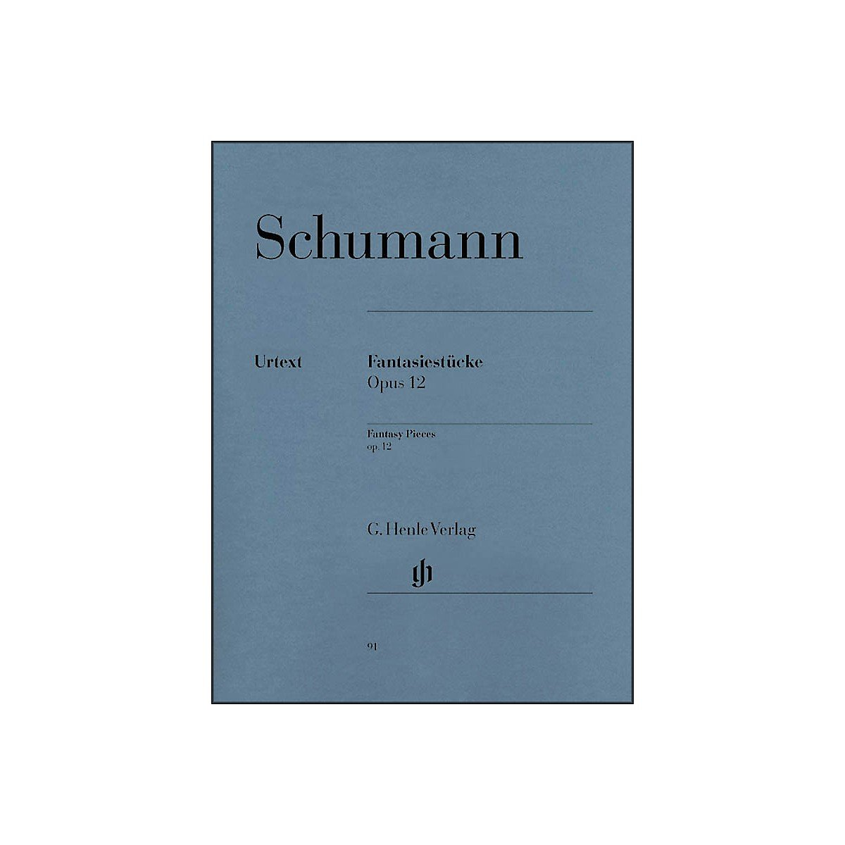 Download G. Henle Verlag Fantasy Pieces Op. 12 (with Appendix: Woo 28) By Schumann pdf