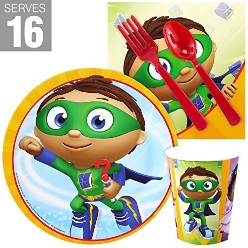 BirthdayExpress Super Why Party Supplies Snack Pack for