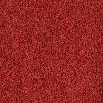 Richland Textiles Terry Cloth Red Fabric by The Yard