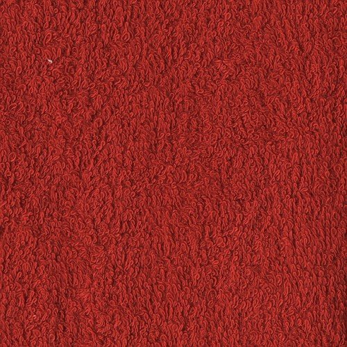 Richland Textiles Terry Cloth Red Fabric by The Yard,