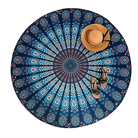 Amazon Com Best M Indian Hanging Mandala Tapestry Round Wall