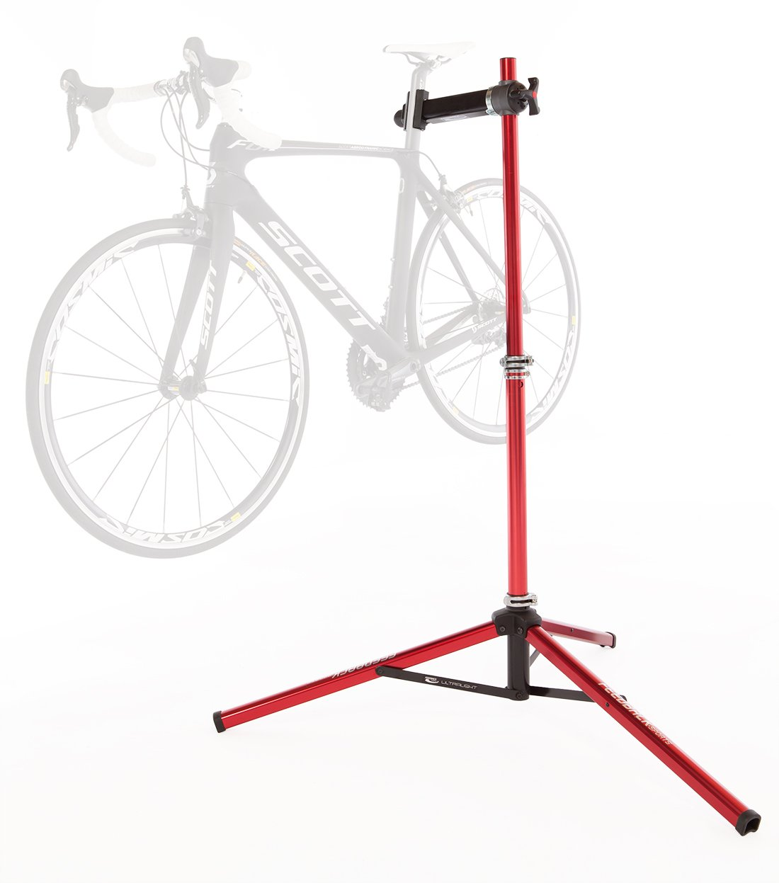 Feedback Sports Pro-Ultralight Repair Stand (Red) by Feedback Sports