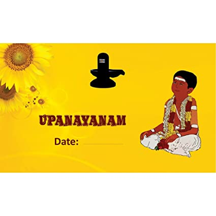 Poonal kalyanam upanayanam themed pack of 30 cards fill in style poonal kalyanam upanayanam themed pack of 30 cards fill in style m4hsunfo