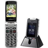 artfone Teléfono Movil para Personas Mayores con Teclas Grandes, Móvil para Ancianos con Tapa, Doble SIM 2G y SOS Botón…