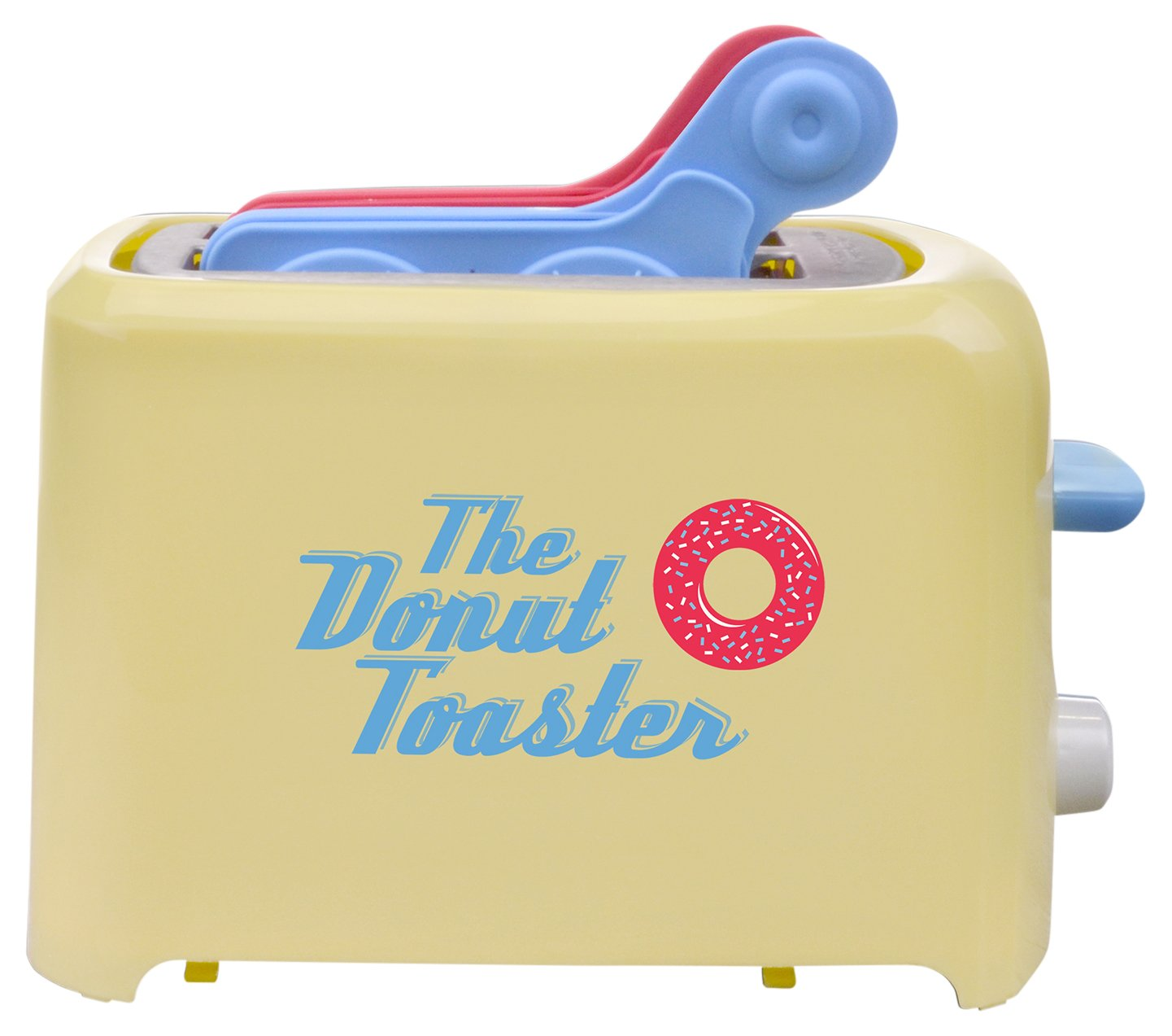 Smart Planet SN-1DT Sweet Nation Donut Toaster, Yellow