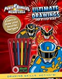 By Parragon Books Power Rangers Megaforce: Ultimate Drawings Step-By-Step Guide [Paperback]