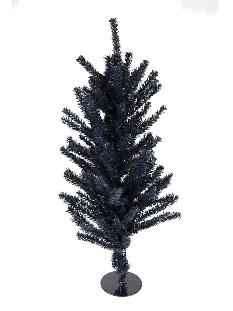 Miniature 18 Inch Black Table Top Halloween Trees [TR2155BL]