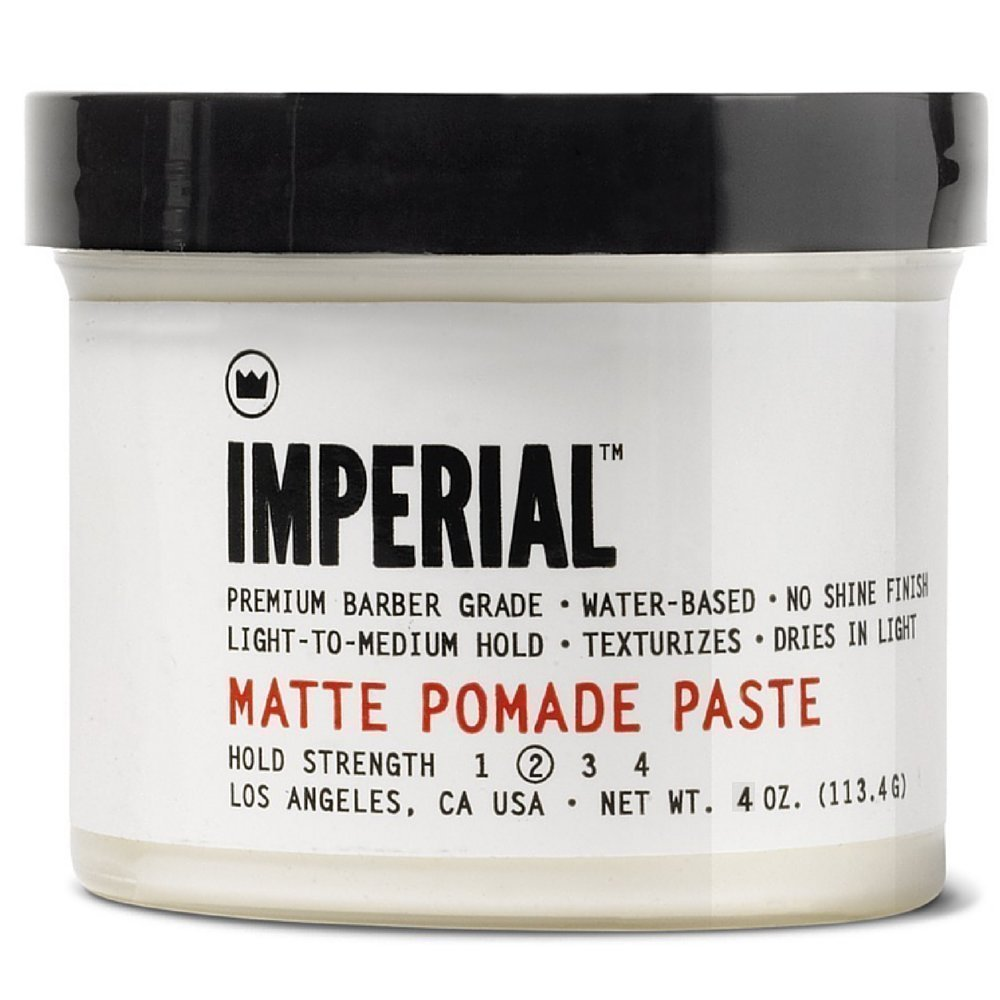 Imperial Barber Grade Products Matte Pomade Paste 4 Oz.
