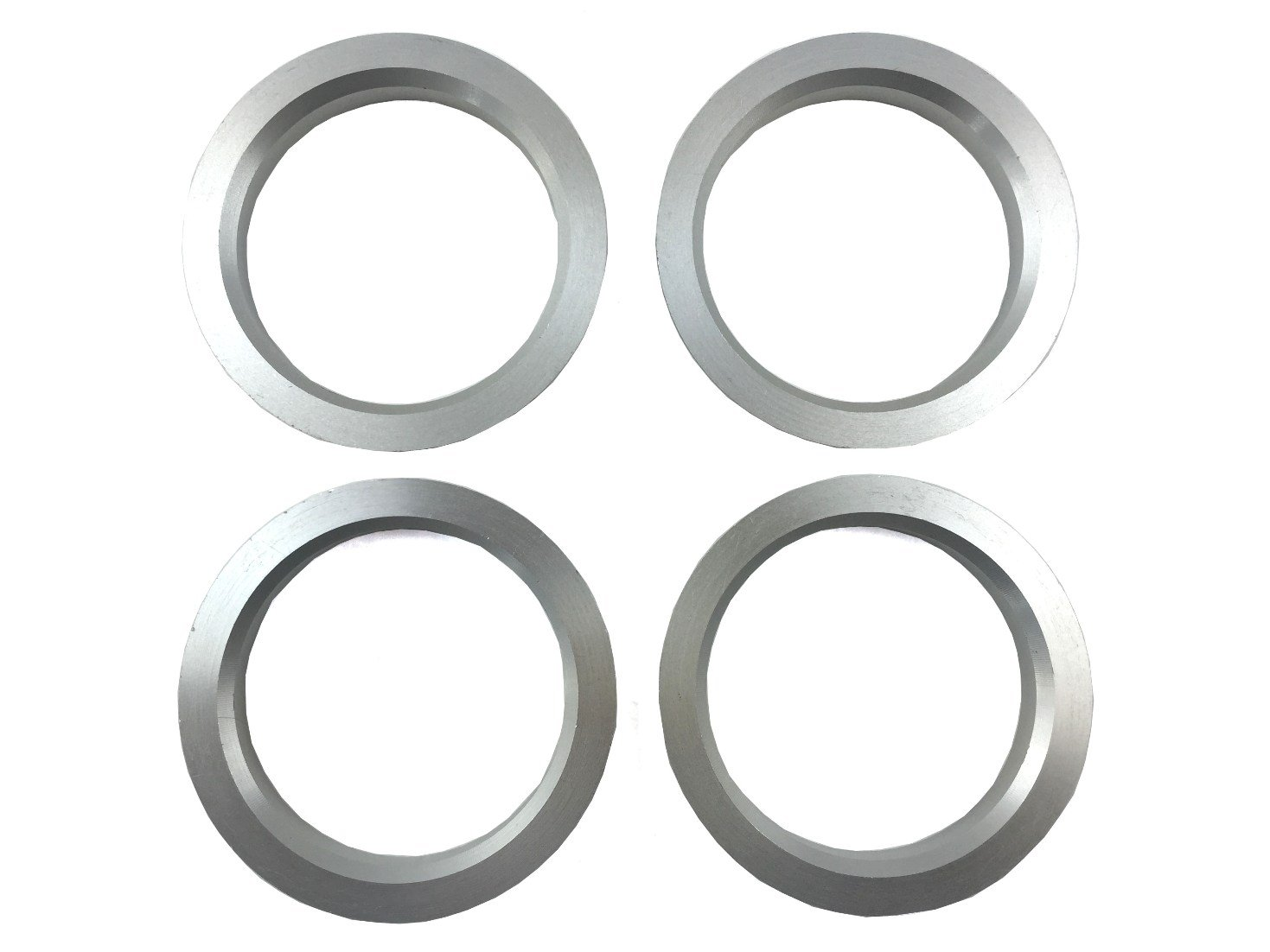 4 Pieces - Hub Centric Rings - 73.1mm OD to 60.1mm ID - Aluminum Hubrings