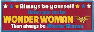 Spoontiques Wonder Woman Desk Sign
