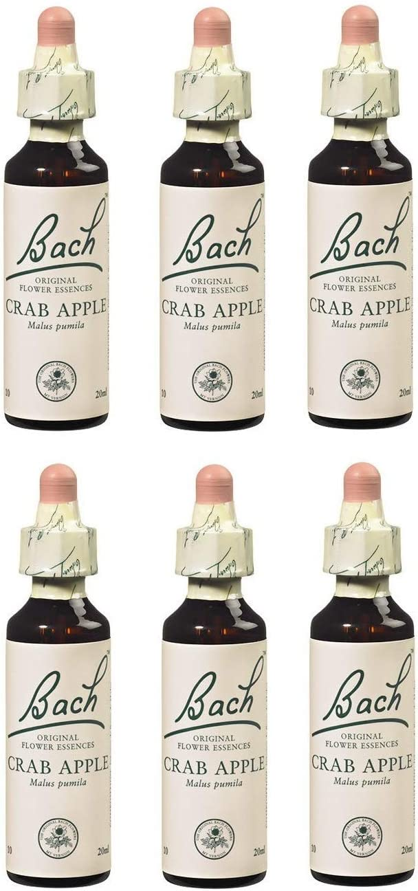 (6 Pack) - Dr Bach - Crab Apple Bach Flower Remedy | 10ml | 6 Pack Bundle by Dr Bach