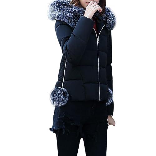 Hiroo Mujer Invierno más la chaqueta delgada de la chaqueta del tamaño Casual Parker más grueso del ...