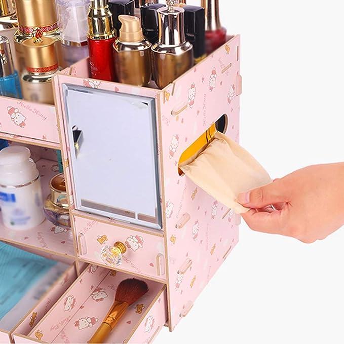 Jia He Caja de almacenamiento de cosméticos Caja de ...